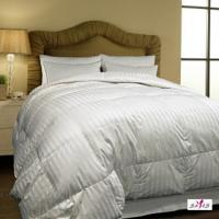 Buy cheap Queen Size 100 % Cotton Fabric Microfiber White Hotel Comforter Sets from wholesalers