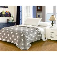 Buy cheap Elegant Home Textile Flannel Fleece Blanket Around 1cm Thickness With ISO9001 Certificated from wholesalers