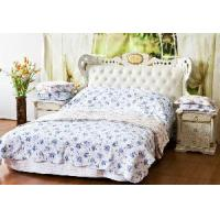 Buy cheap Printed and Embroidery Cotton Quilt from wholesalers