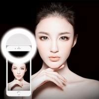 Buy cheap Beauty Artifact Night Shoot External LED Flash Light Luminous Selfie Phone Ring for iPhone all Mobile Phone from wholesalers