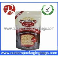 Buy cheap Round Bottom Gusset Snack Plastic Stand Up Pouches Ziplock Bags from wholesalers