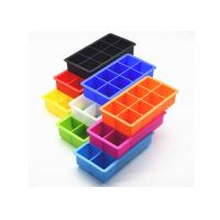 Buy cheap Durable , Eco - Friendly , 8 cavities , Silicone Ice Cube Tray for Pub / Bar from wholesalers
