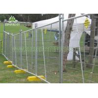 Buy cheap 6ft Height Temporary Chain Link Fence PanelsWith 50 × 50mm Diamond Mesh from wholesalers