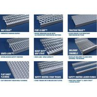 Buy cheap Anti Skid Galvanized Steel Stair Treads Diamond Grip Flame Retardant from wholesalers