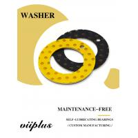 Buy cheap Oilless Metal Sliding Plate & Washer POM Lead Free Flange Type LBMF from wholesalers
