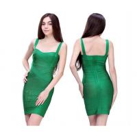 Buy cheap Royal Emerald Green Tight Mature Ladies Formal Evening Dresses Of Nayon from wholesalers