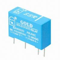 Buy cheap PCB Mounting Solid State Omron Relay with 24V DC Voltage product