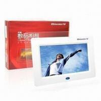 Buy cheap 7-inch Digital Photo Frames with 480 x 234 pixels Resolution product