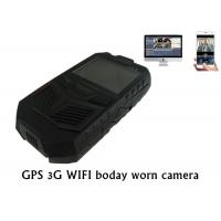 Buy cheap 3G GPS WIFI Police Body Worn Camera Portable DVR For Law Enforcement from wholesalers
