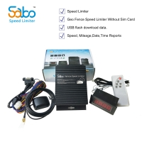 Buy cheap No Sim Card 50HZ Time Reports USB Flash Vehicle Speed Limiting Device from wholesalers