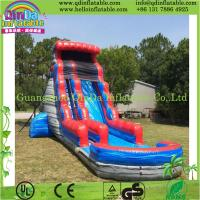 Buy cheap Durable Inflatable Slide with Pool, Water Slide Park, Giant Hippo Slide for Water Park from wholesalers