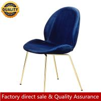 Buy cheap Nordic beetle chair metal beetle dining chair new design modern luxury metal beetle chair for restaurant hotel from wholesalers
