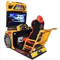 Buy cheap Customized Racing Game Machine For Amusement Park / Arcade Playing Center from wholesalers