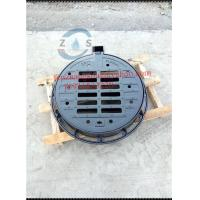 Buy cheap lockable Hot sales Round ductile iron gully grate, 750x600x100mm sewage cover  EN124D400  drainage cover  hot sales from wholesalers