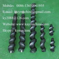 Buy cheap Scrolls and wormfeeds auger POM acetal auger UHMWPE auger plastic nylon auger from wholesalers