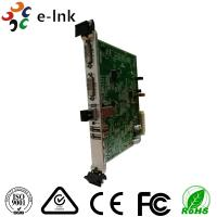 Buy cheap 10G SFP+ Port Dvi To Ethernet Converter 5U Rack Card Type 4K 3840*2160/60P from wholesalers