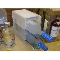 Buy cheap Transparent / Colored Acrylic Wine Display , Wine Bottle Glass Perspex Holder from wholesalers