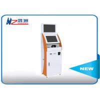 Buy cheap 19 Inch Interactive Dual Screen Cash Kiosk Machines With Key Board , 6.5ms Response from wholesalers
