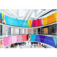 Buy cheap P2 P4 Curved Flexible Led Display Screen Circle Column Led Wall Display from wholesalers
