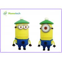 Buy cheap Minion Cartoon USB Flash Drive 4GB 8GB 16GB 32GB 3D OEM Cartoon Character USB Flash Drive from wholesalers