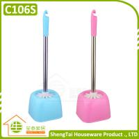 Buy cheap 2016 Fashion Rectangular Shape Bath Toilet Brush With Stainless Handle from wholesalers