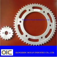 Buy cheap Motorcycle Sprocket, type Honda , Yamaha , Suzuki , Kawasaki , Bajaj , CG125 , CG150 , CD70 from wholesalers