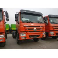 Buy cheap 40T Sinotruk HOWO Heavy Dump Truck Chassis For Loading Construction Material from wholesalers