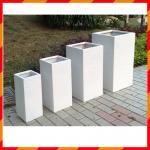 Buy cheap Light weight high strength outdoor fiberglass clay planter from wholesalers