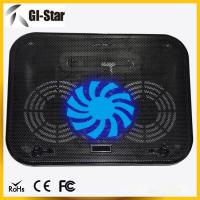 Buy cheap Good quality laptop cooling pad ,laptop coolers with two fans and nice price from wholesalers