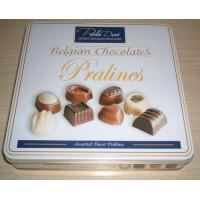 Buy cheap belgian  chocolate biscuit tin box  20131210 from wholesalers