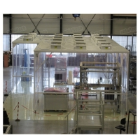 Buy cheap Portable Class 100 clean room, Mobile type ISO5 portable clean rooms from wholesalers