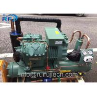 Buy cheap R404 Refrigeration Condensing Unit / Bitzer 6FE-50Y Water Cooled Condenser Unit product