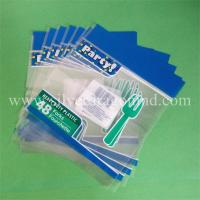 Buy cheap printed pp header bags with hanging hole from wholesalers