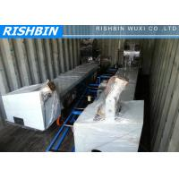 Buy cheap Color Steel Pipe Bending Downspout Roll Forming Machine with Post - cutoff Shear from wholesalers