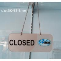 Buy cheap Transparent Acrylic Photo Frames Non-toxicity with a metal chain product