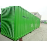 Buy cheap 40 Feet Container Type Generator Green Color 1350KW / 1700KVA 3 Pole MCCB from wholesalers