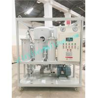 China ZYD Double stage vacuum transformer oil,dielectric oil treatment filtration systems,switchgear oil purifier on sale