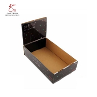 Buy cheap Black Color 300gsm CCNB Display Box Packaging  With Advertising Board from wholesalers