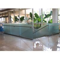 Buy cheap High quality terrace railing designs with aluminum U channel frameless glass from wholesalers