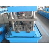 Buy cheap Thickness 0.6mm-2.0mm Steel Metal Shutter Door Guide Rails Forming Machine With Speed 8-12m/min from wholesalers