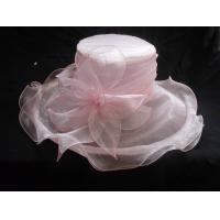 Buy cheap Crushable Fashion Ladies Self Organza Hat with Adjustable Satin Sweatband for Normal Day from wholesalers