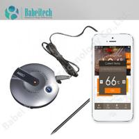 Buy cheap Digital Cooking Bluetooth Wireless Grill Meat Oven BBQ Thermometer with Stainless Steel Probe from wholesalers