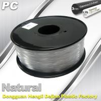 Buy cheap PC Filament 3D Printing Material Strength Resist Ultraviolet Rays from wholesalers