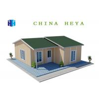 Buy cheap Light Steel Frame Prefab Residential Homes Environmentally Friendly 86.8 M2 Area from wholesalers