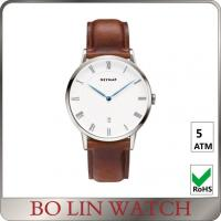 Buy cheap Simple Classic Men'S Minimalist Dress Watch , Automatic Minimalist Leather Watch from wholesalers