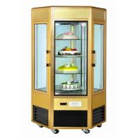 Buy cheap 6 Door Food Showcase Refrigerator Rotating Countertop Display For Confectionery from wholesalers