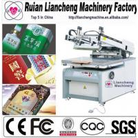 Buy cheap 2014 Advanced 4 color 4 station t-shirt screen printing machine from wholesalers
