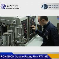 Buy cheap Chinese MON&RON Octane Rating Unit SINPAR FTC-M1/M2 from wholesalers