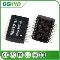 China High Voltage Safety 24 PIN Power Isolation Transformer SMD for 1000BASE on sale