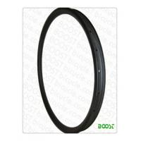 Buy cheap boostbicye 29er hookless carbon MTB rim 40mm width clincher tubeless compatible Downhill DH from wholesalers